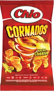 Flips Chio cornados nacho cheese, 65g
