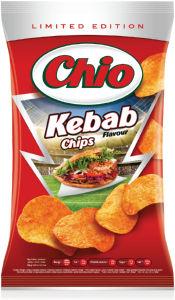 Čips Chio, z okusom kebaba, 150g