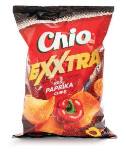 Čips Chio Exxtra paprika, 125 g