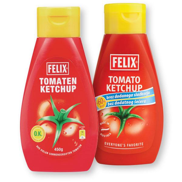 Ketchup Felix, blagi, 450g