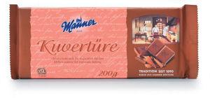 Čokolada mlečna, Kuverture, za obliv, 200g