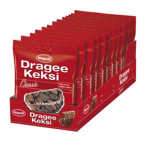 Keksi Dragee, z mlečno čokolado, 165g