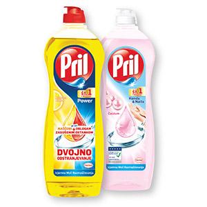 Detergent Pril, več vrst, 900ml