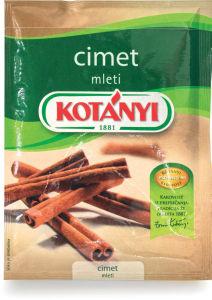 Cimet Kotanyi, mleti, 25g