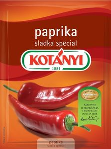 Paprika Kotanyi, sladka, 25g