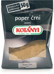 Poper Kotanyi, mleti, 50g