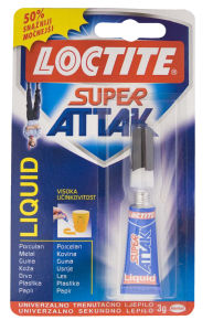 Lepilo Super Attak, 4 g