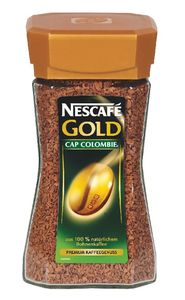 Kava Nescafe, Gold, Cap colombie, 200g