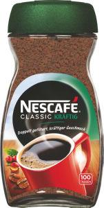Kava Nescafe, classic kraftig, 200g