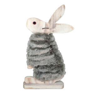 Zajec s kožuhom lesen, 42cm