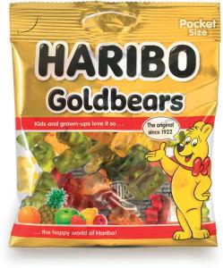 Bonboni Haribo, zlati medo, 100g