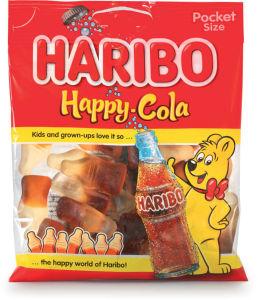 Bonbon Haribo, happy cola, 100 g