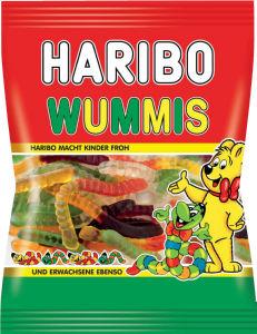 Bonboni Haribo, črvi, 200g