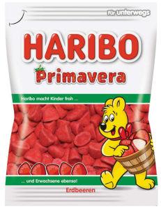 Bonboni Haribo, jagoda, 100g