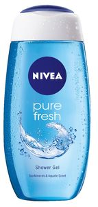 Tuš gel Nivea, pure fresh, 250ml