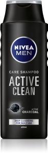 Šampon Nivea, moški, Active clean, 400ml
