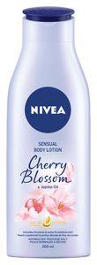 Losjon Nivea, oljni, cherry bl.&jojoba olje, 200ml