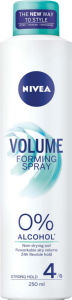 Lak Nivea, hair sp., Forming volume, 250ml