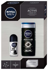 Darilni set Nivea, Men active