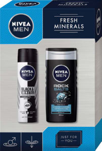 Darilni set Nivea, Men fresh