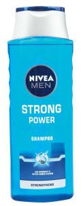 Šampon Nivea, moški, Strong power, 400ml