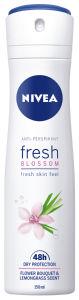 Dezodorant Nivea Fresh Blossom, antiperspirant sprej za ženske,150ml