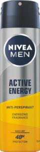 Dezodorant Nivea, Active Energy sprej za moške, 150 ml