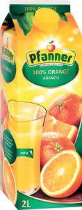 Sok Pfanner, pomaranča, 2l