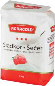 Beli kristalni sladkor Agragold, beli, 1kg