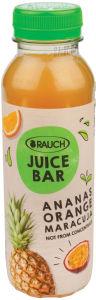 Sok Rauch Juice Bar, ananas pomaranča marakuja, 0,33l