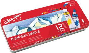Barvice Tempera Aero, Triglav, v 7,5 ml, 12/1
