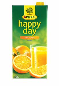 Sok Happy day, 100% pomaranča, 2l