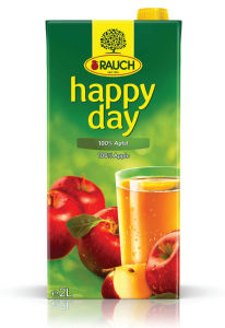 Sok Happy day, jabolko, 2l
