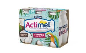 Jogurtov napitek Actimel, kokos, 6x100g