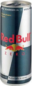 Energijska pijača Red bull, Zero, s sladili, 0,25 l