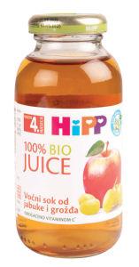 Sok Bio Hipp, grozdje, jabolko, 200ml