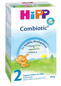 Mleko Hipp, Bio, 2 combiotic, 300g
