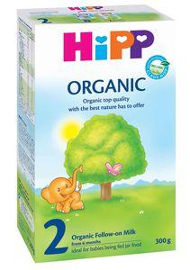 Mleko Hipp, Bio, 2 organic, 300g