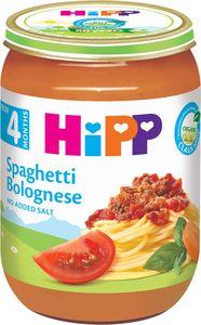 Obrok Bio Hipp, špageti bologneze, 190g