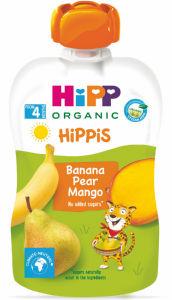 Blazinica Bio Hipp, banana, hruška, mango, 100g