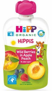 Blazinica Bio Hipp,gozdni sadeži,jabol.,breskev, 100g