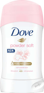 Deo.stick Dove, žen., Powder soft, 40ml