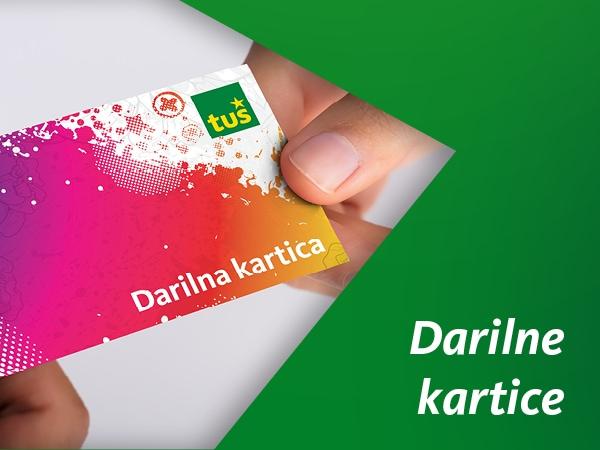 Dodatna ponudba - Darilne kartice