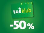 Tuš klub -50%