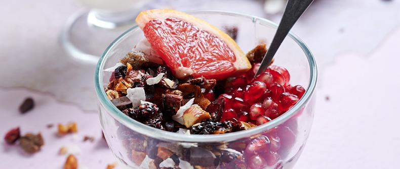 recept Granola iz ajdovih žgancev po navdihu Maruše Ferk