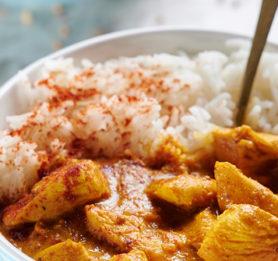Piščančji curry po navdihu Mete Hrovat