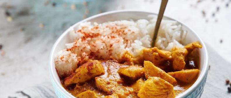 recept Piščančji curry po navdihu Mete Hrovat