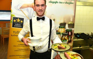 Znani finalisti tekmovanja dijakov in študentov gostinsko-turističnih šol za naziv Tuševa zvezdica