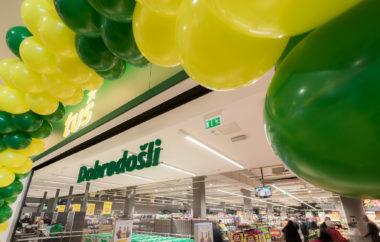 Tuš supermarket Planet Kranj popolnoma po meri kupcev
