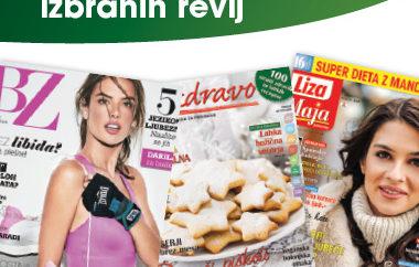 25 % popust na naročnine izbranih revij Media24